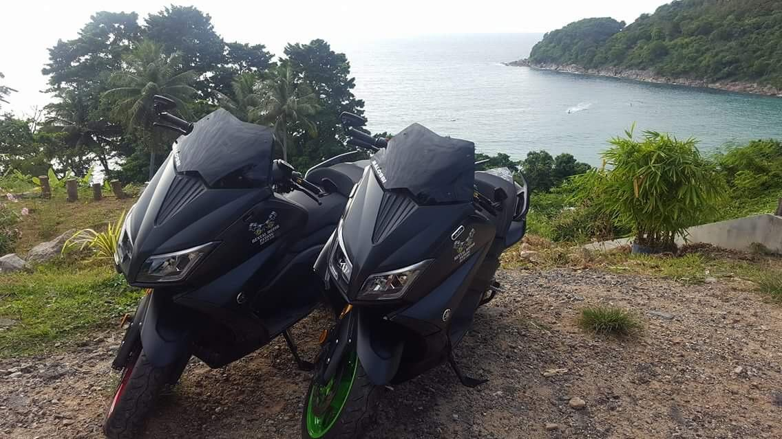 Rent a motorbike or scooter in Patong on Phuket.