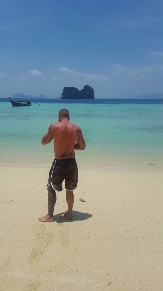 Denny on the Beach